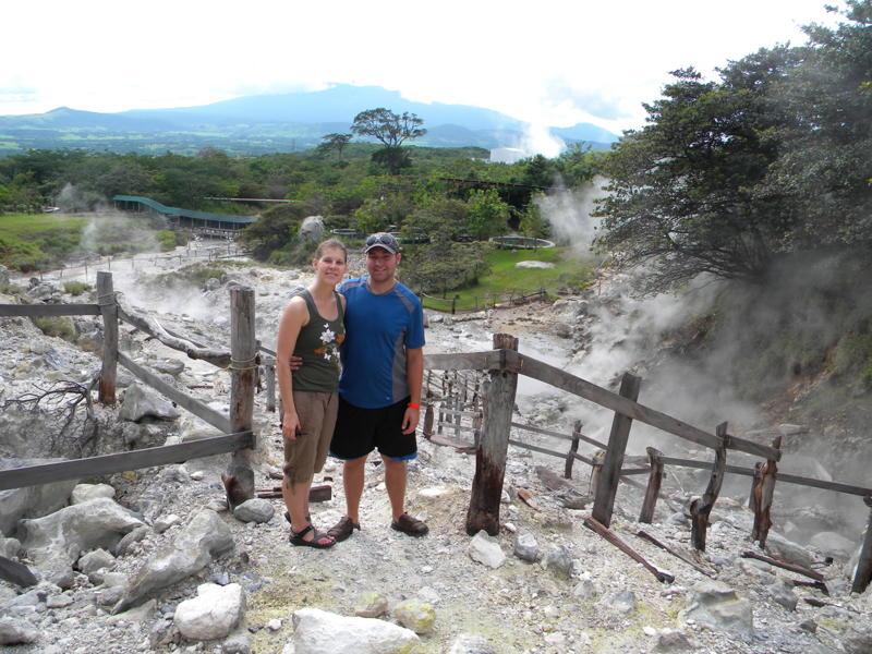 Maureen & Tom Riha Miravalles Volcano