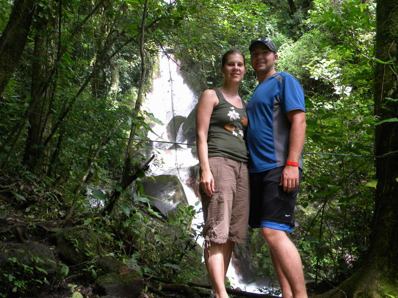 Maureen & Tom Riha Miravalles Waterfalls